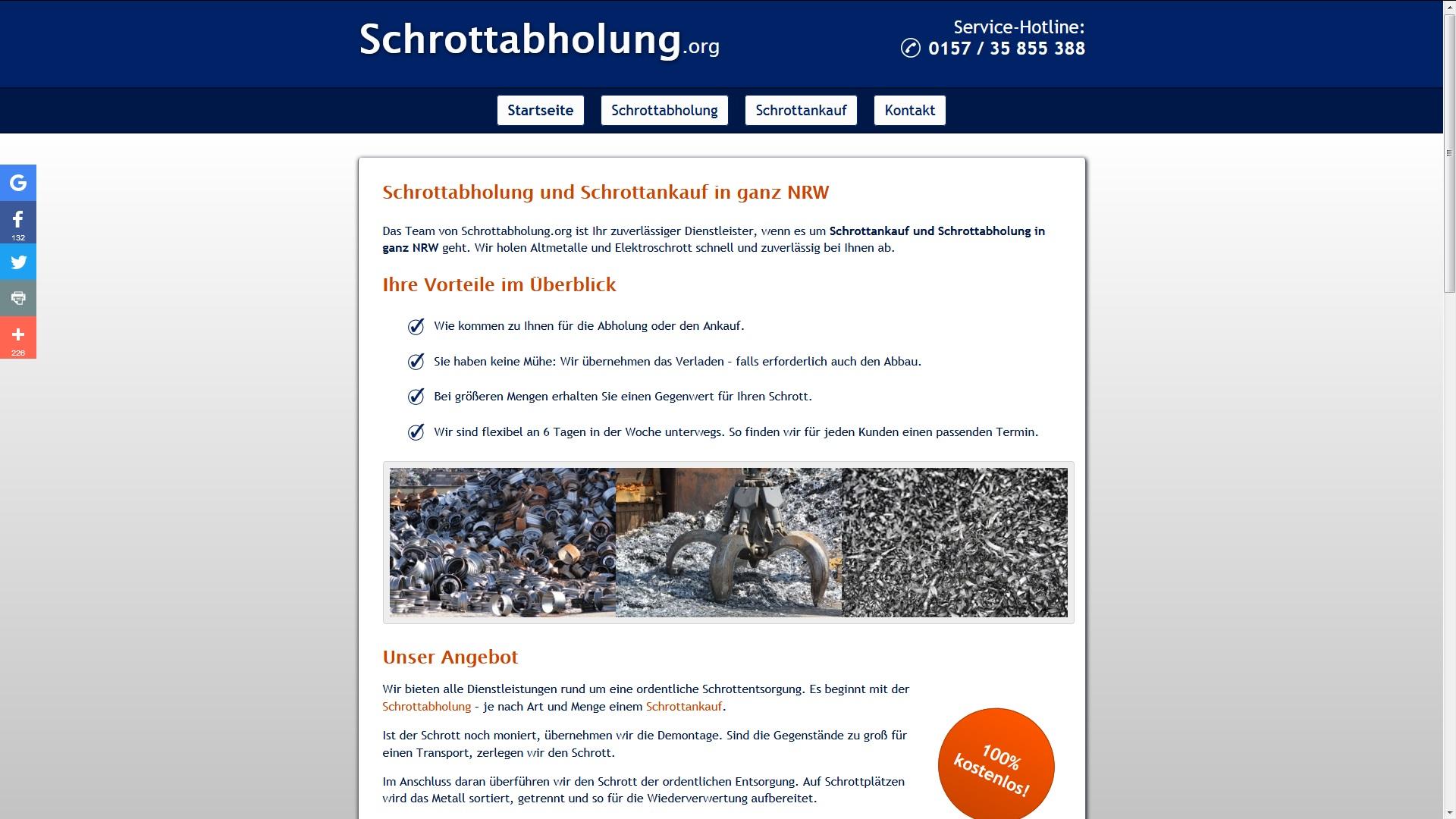 Schrottankauf Düsseldorf