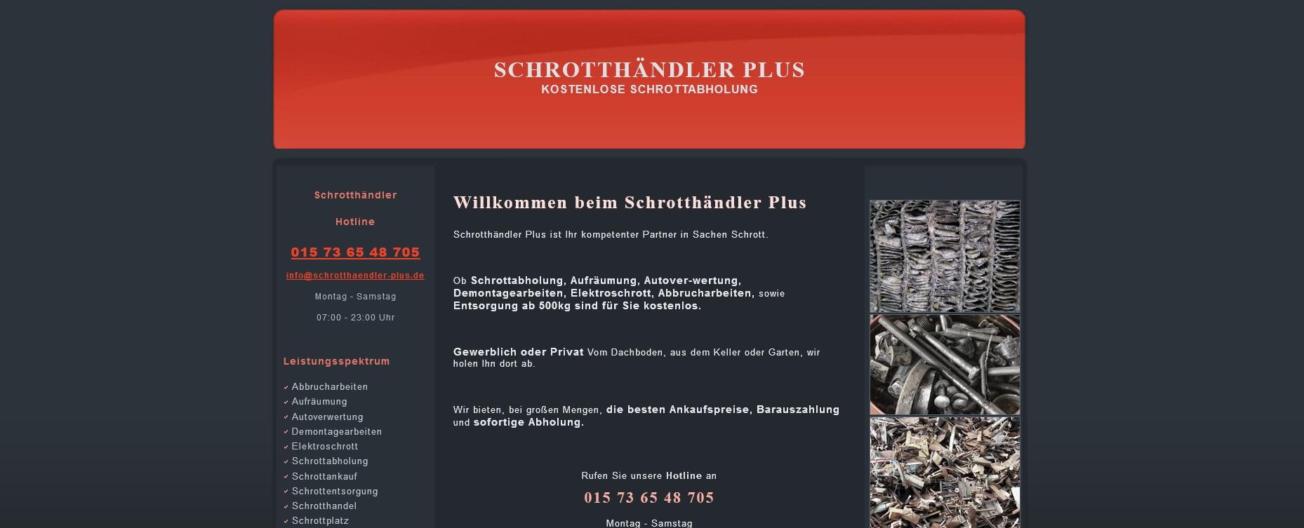 Schrott einfach loswerden mit der Schrottabholung Wuppertal