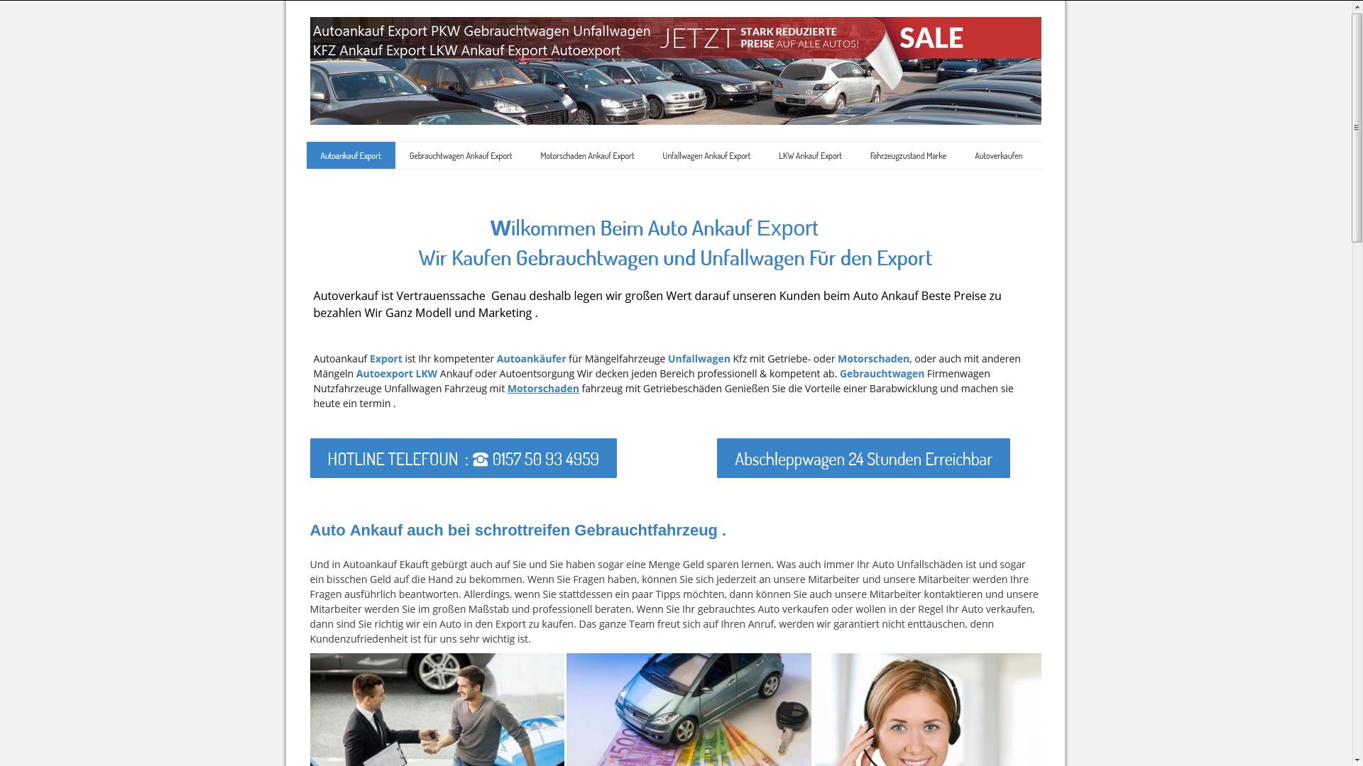 Autoankauf Rostock KFZ-Ankauf-Export Rostock