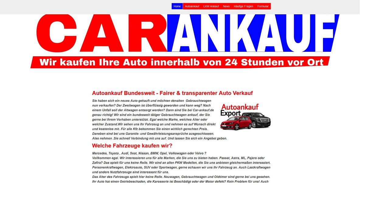 Autoankauf Morsbach
