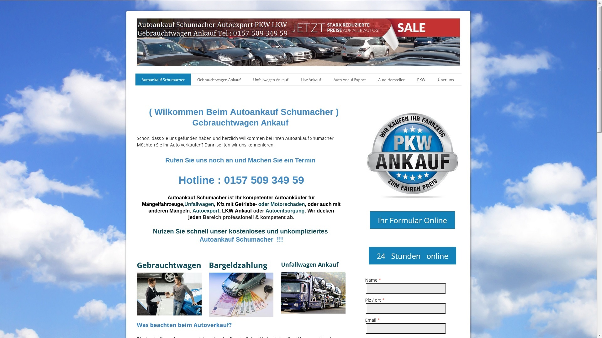 https://www.autoankauf-schumacher.de - Autoankauf Passau