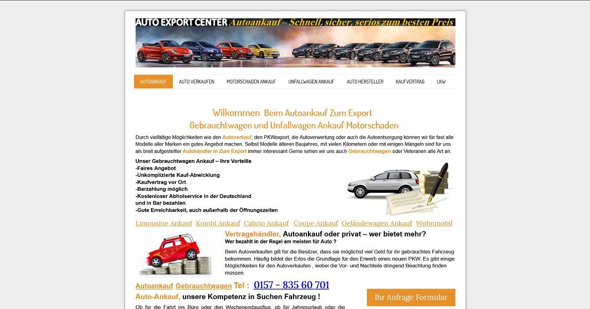 Kfz-Ankauf-Markt.de - Autoankauf Bünde