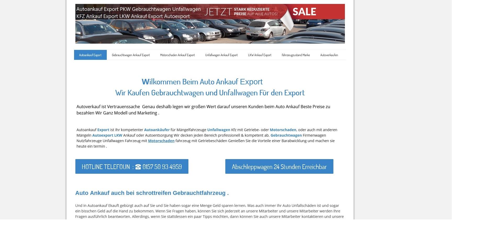 Kfz-Ankauf-export.de | Autoankauf Tübingen | Autoankauf Export Tübingen