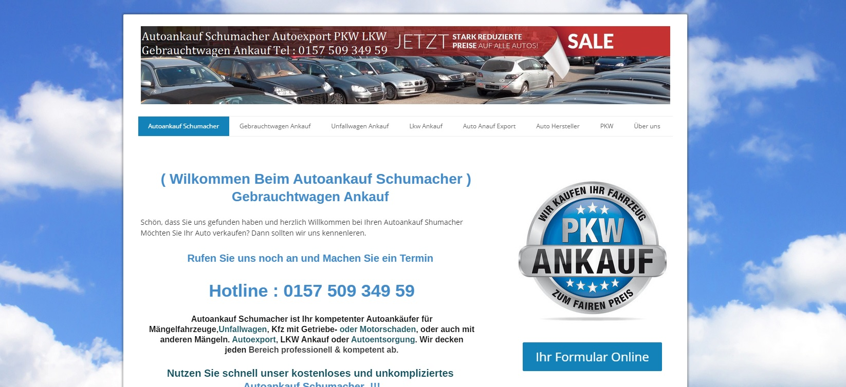 autoankauf-schumacher.de - Autoankauf Bremerhaven